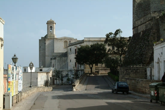 castello, seminario e campanile cattedrale - Ugento (2686 clic)