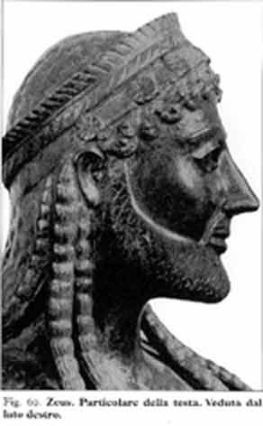 ZEUS di Ugento: particolare della testa (3130 clic)