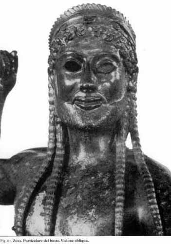 ZEUS di Ugento: il busto di fronte (3494 clic)