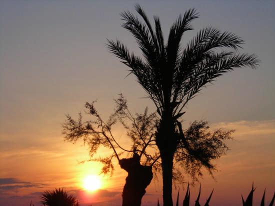 tramonto  - Cefalù (2757 clic)