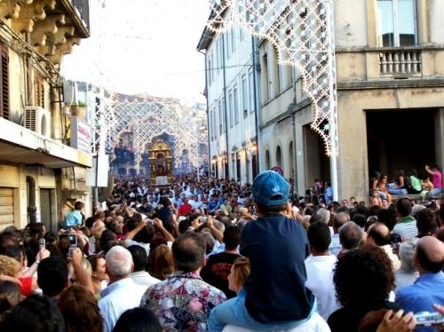 Festa di S. Sebastiano Patrono della città - Mistretta (3862 clic)