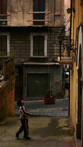 BAMBINO COL CESTINO - Cosenza (3021 clic)