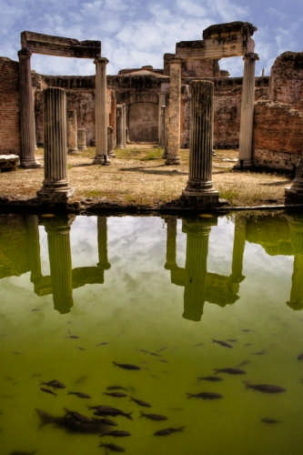 Villa Adriana - Teatro Marittimo - Tivoli (5793 clic)