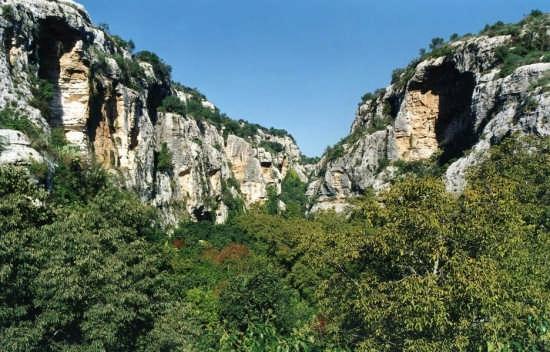 Veduta della cava Ispica lato sud (3843 clic)