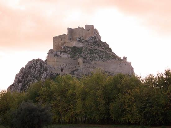 IL CASTELLO AL TRAMONTO - Mussomeli (2743 clic)