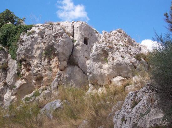 sito archeologico, località Cangioli - Mussomeli (2244 clic)
