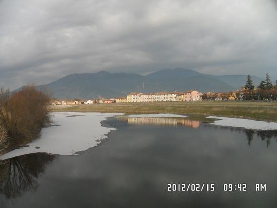 NEVE IN ARNO - Calcinaia (1400 clic)