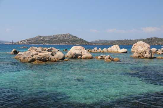 L'azzuro mare di Sardegna - Caprera (2824 clic)