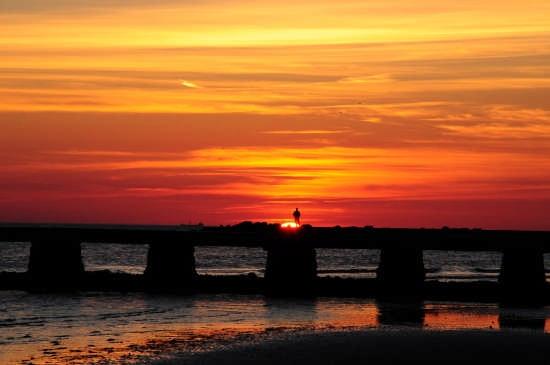 tramonto a grado (2825 clic)