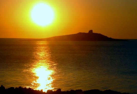 Tramonto   a Isola delle Femmine   ( pa ) - Palermo (5949 clic)
