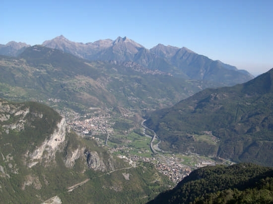 Panoramica di Chatillon e Saint Vincent (6004 clic)