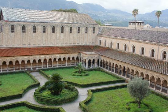 Chiostro dei Benedettini - Monreale (3813 clic)