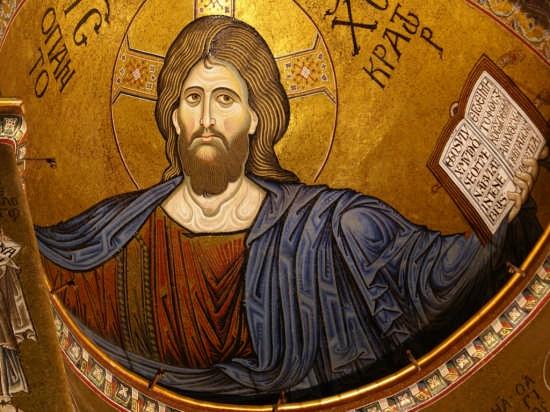 Cristo Pantocratore - MONREALE - inserita il 16-Feb-08