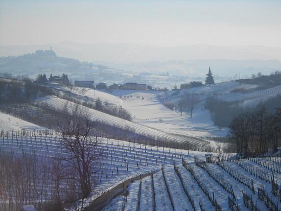 Vinchio nel Monferrato ad inizio febbraio 2013 (850 clic)
