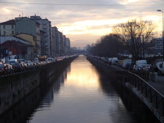 I Navigli  all'ora che volge al desio.. - Milano (6198 clic)