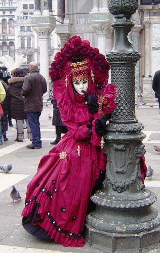 Carnevale a Piazza S.Marco - Venezia (3655 clic)