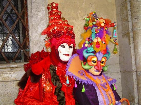 Carnevale a  Piazza S. Marco - Venezia (2233 clic)
