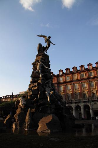 piazza statuto - Torino (1793 clic)