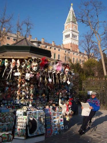 campanile di s.marco - scorcio - VENEZIA - inserita il 29-Feb-08