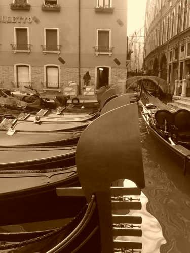 gondole - Venezia (1315 clic)