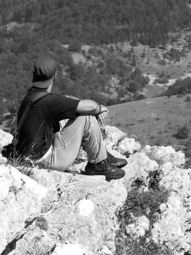meditazione - Scanno (1966 clic)