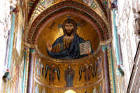 La cattedrale di Cefalù - interno  - Cefalù (9819 clic)