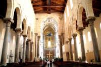 La Cattedrale di Cefalù - interno  - Cefalù (13330 clic)