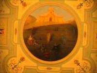 Il Teatro Garibaldi - interni - Il Tondo di Piero Guccione  - Modica (5590 clic)