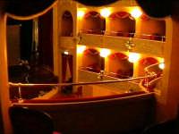 Il Teatro Garibaldi - interni   - Modica (2003 clic)