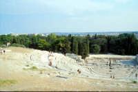 Area Archeologica - Teatro Greco  - Siracusa (1252 clic)
