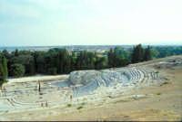 Area Archeologica - Teatro Greco  - Siracusa (1299 clic)