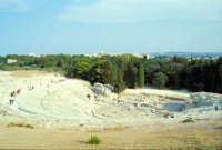 Area Archeologica - Teatro Greco  - Siracusa (1338 clic)