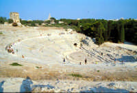 Area Archeologica - Teatro Greco  - Siracusa (1283 clic)
