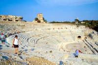 Area Archeologica - Teatro Greco  - Siracusa (1120 clic)