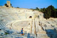 Area Archeologica - Teatro Greco  - Siracusa (1343 clic)