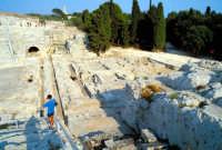 Area Archeologica - Teatro Greco  - Siracusa (1151 clic)