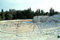 Area Archeologica - Teatro Greco  - Siracusa (1191 clic)