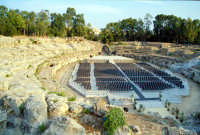 Area Archeologica - Anfiteatro Romano  - Siracusa (1431 clic)