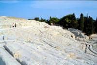 Area Archeologica - Teatro Greco  - Siracusa (1203 clic)
