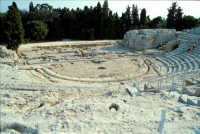 Area Archeologica - Teatro Greco  - Siracusa (1276 clic)