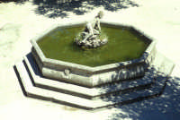 Fontana nel parco del Castello  - Erice (1466 clic)