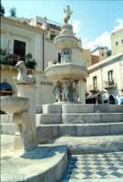 Fontana Barocca in Piazza Duomo  - Taormina (11039 clic)