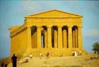 Tempio della Concordia  - Valle dei templi (1990 clic)