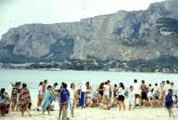 Il mare e la spiaggia di Mondello  - Mondello (2502 clic)