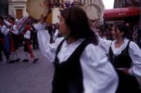 Sagra della Ricotta - musica e danze tipiche siciliane  - Vizzini (2028 clic)
