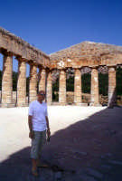 Tempio di Segesta + Murizio  - Segesta (2394 clic)