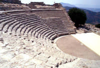 Teatro Greco di Segesta  - Segesta (1987 clic)