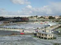 27 gennaio 2005 - Modica si sveglia sotto la neve - Il Campo sportivo della caitina  - Modica (4436 clic)