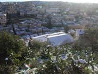 27 gennaio 2005 - Modica si sveglia sotto la neve - Modica Alta, il Duomo di San Giorgio e il Corso