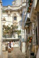 Duomo di San Giorgio visto dal Corso Umberto I MODICA Giambattista Scivoletto
